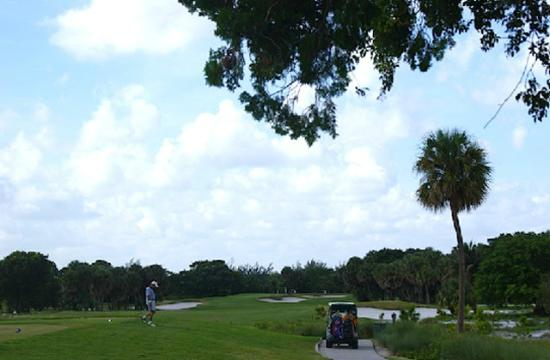 ‪‪West Palm Beach Golf Course‬: A great hole to play‬