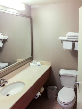 Holiday Inn Express Grants Pass: Clean, Orderly Bathroom