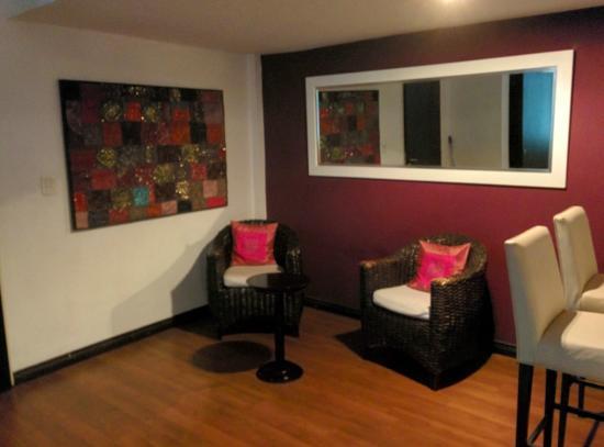 Palermo Soho Loft: Sala de estar en la Habitación