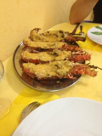 Canne a Sucre: Langouste grillée