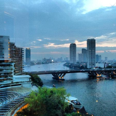 Shangri-La Hotel,Bangkok: View from my room