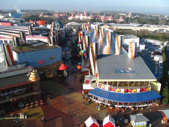 PanoraMagique : Disney village