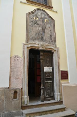 Blagovestenska Church: Вход в церковь