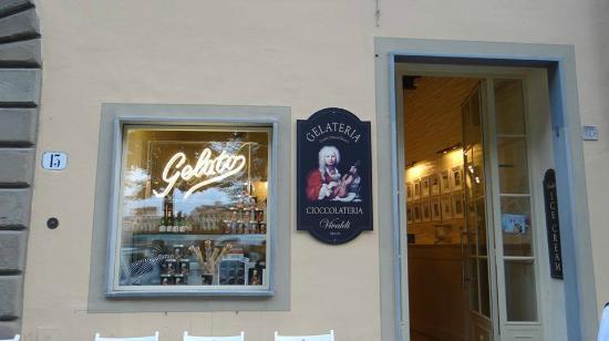 Gelateria Cioccolateria Vivaldi : Entrada