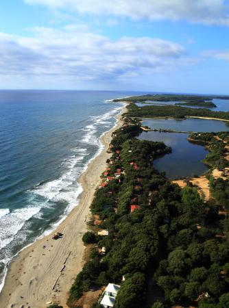 Riva Bella Naturiste Camping : vue aérienne ...1 Km de plage