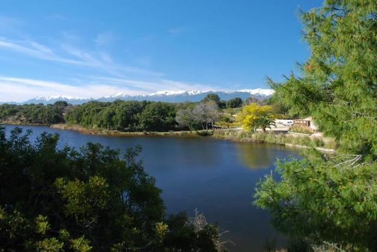 Riva Bella Naturiste Camping : un étang d'eau de mer
