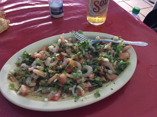 Marlin Azul: Ceviche Camarónes