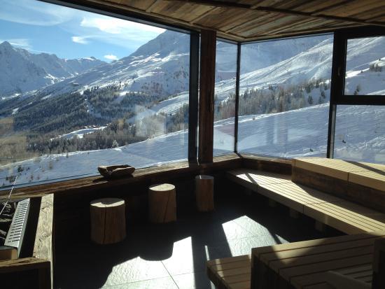 Hotel Schoene Aussicht : Panorama Sauna