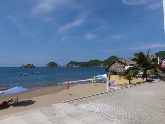 Las Arenas: playa