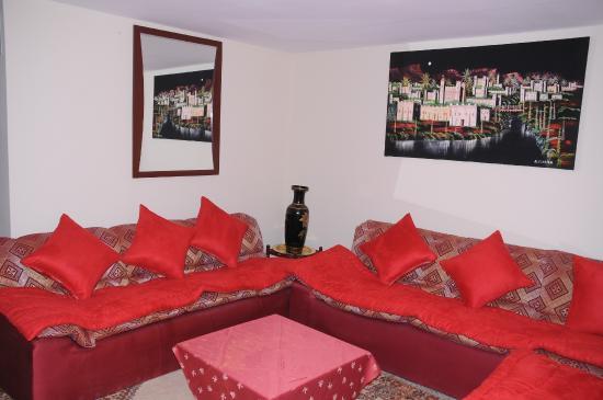 Kenzi Rissani Hotel: Sallon
