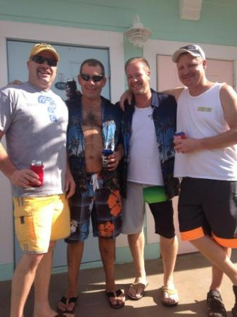 The Lighthouse Resort Inn and Suites: The Men
