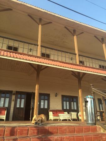 Hotel Frances : Afuera