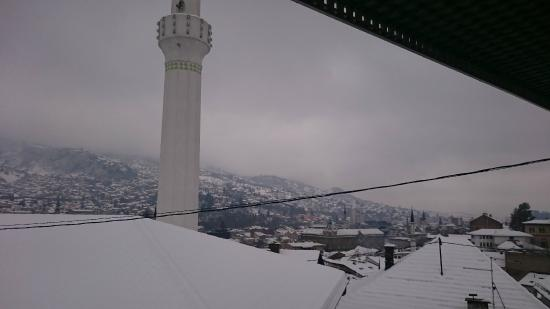 Hotel Hayat : view from the room