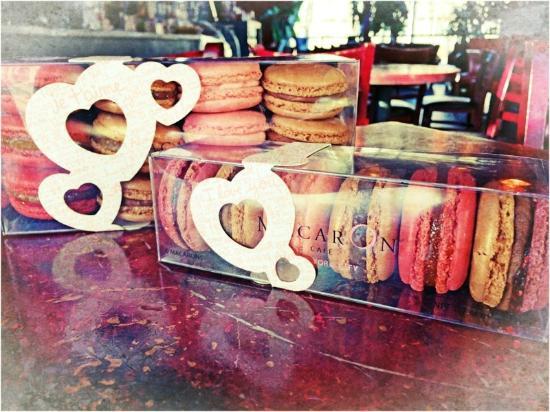 Cafe Boheme: Special Valentine's Day macaron boxes
