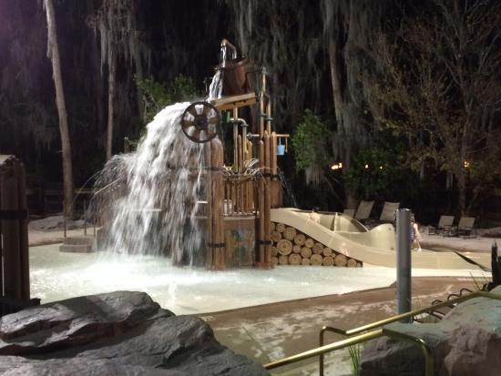Disney's Wilderness Lodge: splash play area