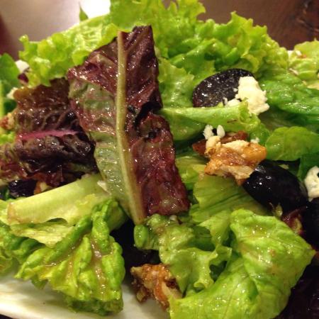 Amici: Mediterranean Blue Cheese and Walnut Salad