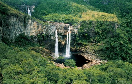 Alto Paraiso de Goias: Saltos do Rio Preto - Ion Davi.