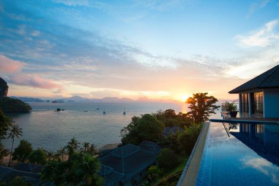 Paradise KohYao: Sunrise, Hilltop Villa