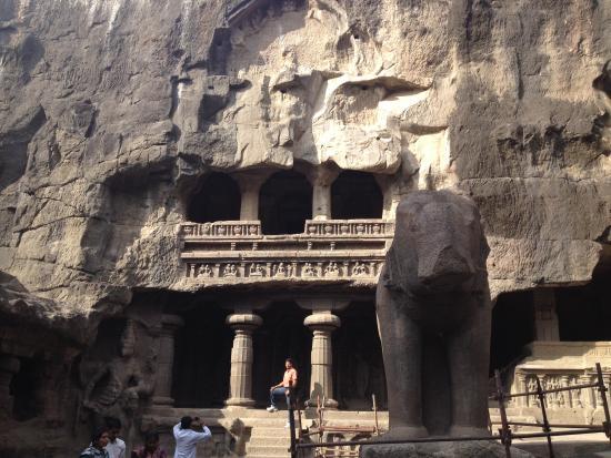 Ajanta, India: Main cave