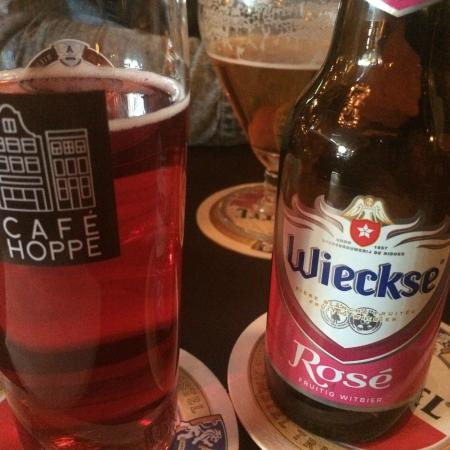 Cafe Hoppe: Much better than my usual Hoegaarden rosé