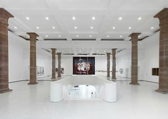 Art Foyer Frankfurt : Blick ins metzler foyer des städel museums picture of