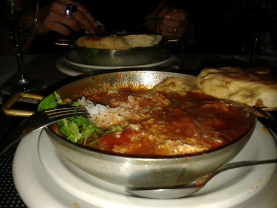 Mash British curry house : Platos presentación!