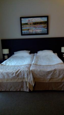 Reikartz Dnеpropetrovsk Hotel: Двухспальная кровать
