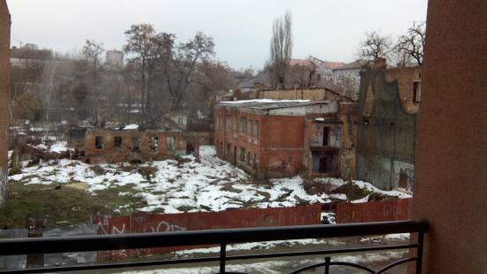Reikartz Dnеpropetrovsk Hotel: Руины