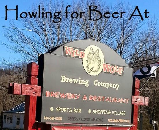 Wild Wolf Brewing Company: Road sign