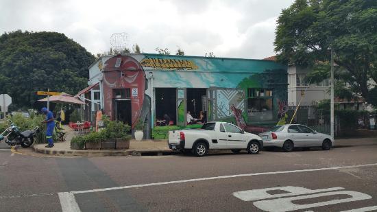 Corner Cafe: Front