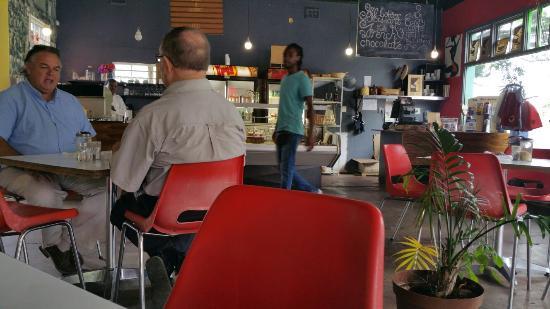 Corner Cafe: Interior
