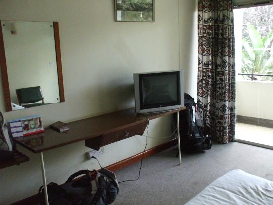 Kivi Milimani Hotel : Plenty of space