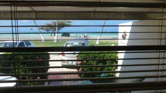 Aruba Beach Villas: View from our room