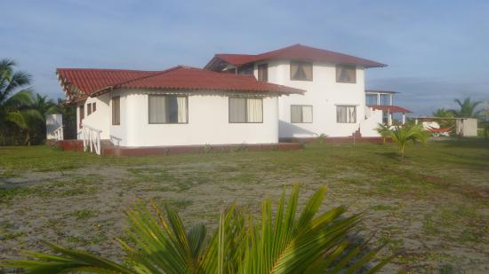 La Playa Lodge: Vista desde la playa