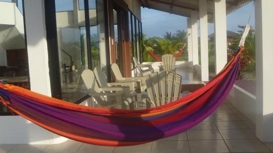 La Playa Lodge: Corredor de restaurante