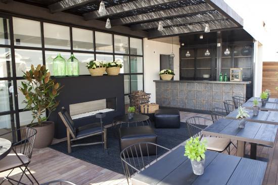 rooftop terrace fotograf a de hotel the serras barcelona. Black Bedroom Furniture Sets. Home Design Ideas