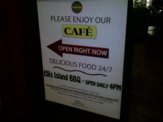 Super 8 Las Vegas Strip Area at Ellis Island Casino: One of several restaurants attached to the hotel.