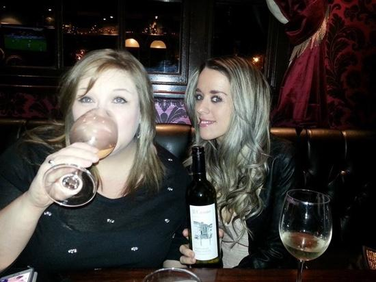 The Ivy house: great wine