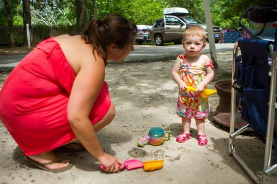 Big Oaks Family Campground : Camp sites at Big Oaks Campground in Rehoboth