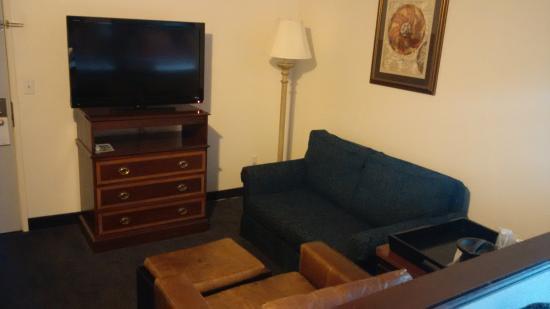 Best Western Corvallis: Livingroom