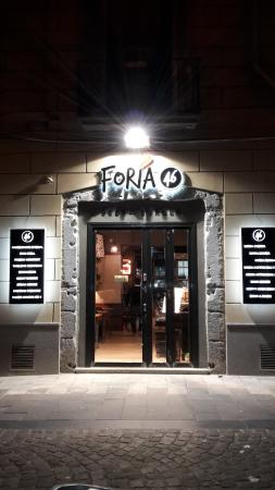Foria 46 Beer and Burger
