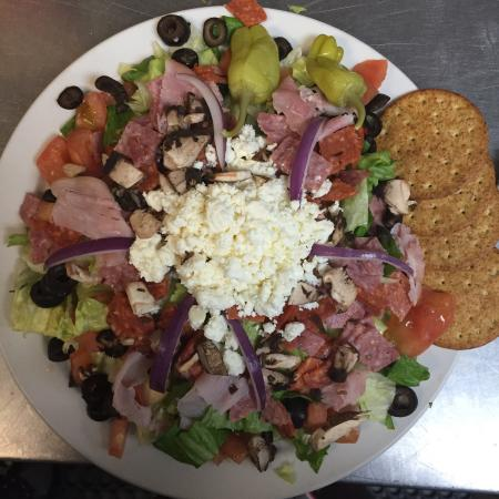 The Red Onion and RO Bar: Antipasto salad