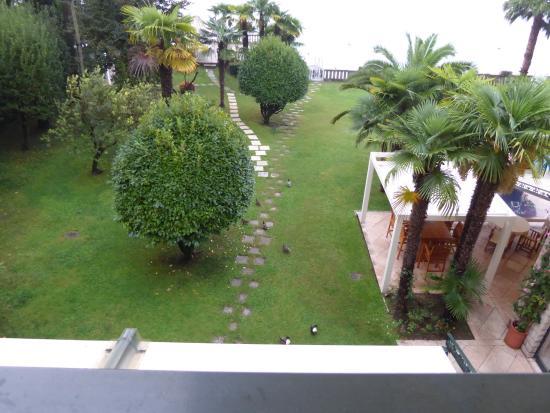 Hotel Villa Capri : View from our room