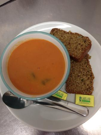 Purple Sage: Homemade Soup & Brown Bread