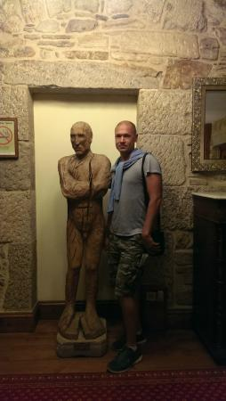 Hotel Virxe da Cerca: hotel lobby