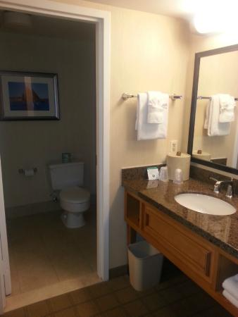 Holiday Inn Hotel & Suites Historic District Alexandria: Bathroom