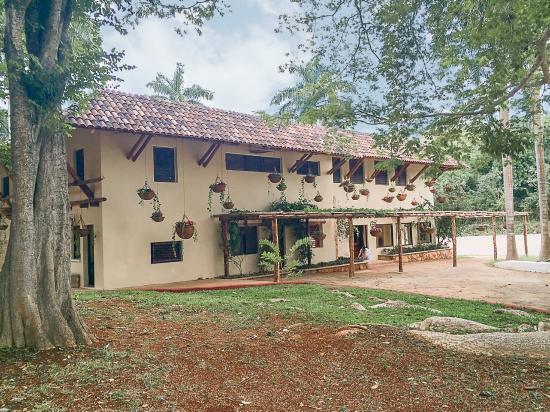 La Casa del Mago: Hotel and surrounding gardens