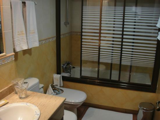 Hostal Rural Los Telares: Baño