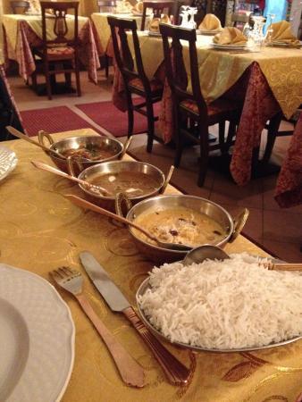Gourm India : Primo e secondo