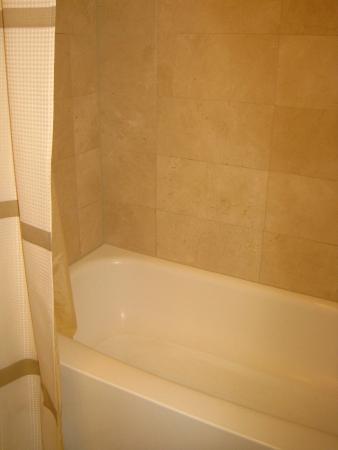 very clean bathtub